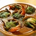 料理メニュー写真海老とキノコのオーブン焼き