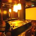 各種宴会場は掘りごたつ式個室となります。