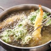 米油100%使用、サクサク食感はまさに絶品♪軽い衣でしつこくなく何本でもいける天ぷらは様々な種類をご用意!