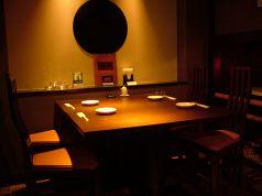 4名用テーブル!間接照明がウットリする空間