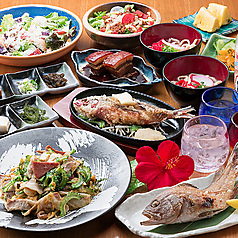 沖縄料理 しーさ 茶屋町店のコース写真