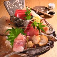 旬魚・旬菜を存分にお楽しみ頂けます。