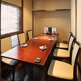 【2階】テーブル個室(6名様まで)
