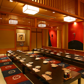 個室和食と仙台牛 洒楽 しゃらく 仙台一番町店の雰囲気3