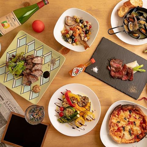 落ち着く店内で新潟食材を使った美味しいイタリアンと日本酒を