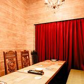 6~10名様まで予約可能の完全個室もご用意! ※1000円チャージ/人となります。