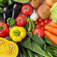 長野県産の有機野菜を使用!