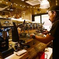 バリスタが入れるコーヒーは絶品です!