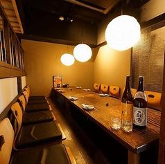 会社の歓迎会、送別会や同窓会などの各種飲み会にもご利用可能な和風個室席をご用意!福島の居酒屋で大人数でもつ鍋食べ放題、飲み放題を楽しむなら『のりを』へご来店くださいませ!大人数でのシーンのみならず、少人数でのプライベートな空間もご提供しておりますので、そちらもご利用ください。