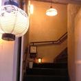 階段をあがると…全室個室の隠れ家【すなおや】!