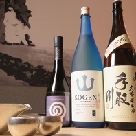 地酒と鮮魚が自慢のお店。格別な一杯をお楽しみください