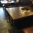 テーブル席は4名様×4ございます