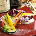 料理メニュー写真こだわり野菜のバーニャカウダ