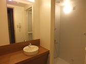 シャワールームもキレイです