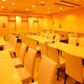 4~50名様まで、席は自由にレイアウトが可能♪少人数から大人数まで、幹事の皆様のご要望にお応えします!