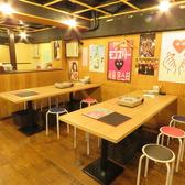 名古屋総合駅ミヤコ地下街 4番出口 徒歩1分★少人数様はもちろん大人数様でもご宴会大歓迎!会社の飲み会でもよくご利用頂く明るく活気ある店内です♪