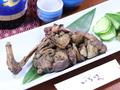 料理メニュー写真地鶏の炭焼き