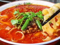 刀削麺の調理を見れます 多彩な食材とスパイス使用