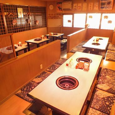 炊き肉 牛ちゃん 鹿児島 銀座店の雰囲気1