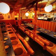 ■立川×貸切■雰囲気自慢のお席多数ございます♪
