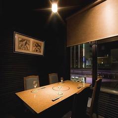 【完全個室】カップルシートとしても人気です。お気軽にお問い合わせください。