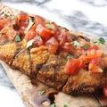 料理メニュー写真柏産 地養鶏のカツレツ モッツァレラチーズ焼き