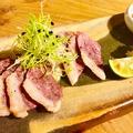 料理メニュー写真【大阪特産 ツムラ本店 河内鴨】ロースさっと炙り