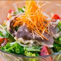 料理メニュー写真牛しゃぶ特製ごまサラダ