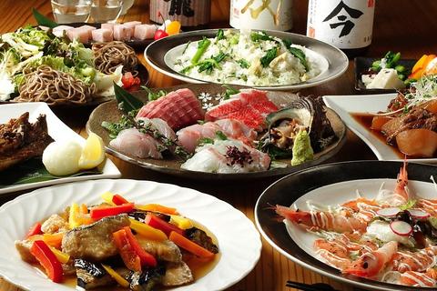 熊本 天草、三陸 岩手直送の鮮魚、古民家風の多種多彩な個室で寛ぎのひと時を・・・。