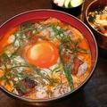 料理メニュー写真東京軍鶏の炭焼き山椒親子丼