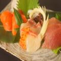 料理メニュー写真本日のお刺身三種盛り
