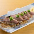 料理メニュー写真合鴨の握り鮨