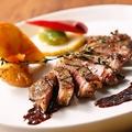 料理メニュー写真サフォーククロスラム肉のガーリックステーキ