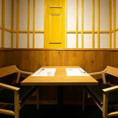 気軽なお食事に便利なテーブル席。[居酒屋/個室/宴会/飲み放題/魚/完全個室/肉/岡山/倉敷/鍋]