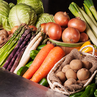 北海道産の野菜へのこだわり