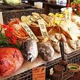 【全国各地から仕入れる厳選食材】季節に合わせて旬の食材を使用したお料理をご提供致します。季節限定の一品料理はもちろん、飲み放題付の宴会コースも旬の食材をたっぷりと詰め込んでおります。是非会社宴会などにご利用下さい。