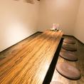 【プライベートな空間】暖かな間接照明が優しい雰囲気を演出します。ごゆらりとお過ごしください。