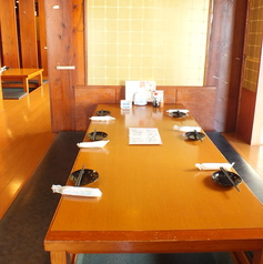 テーブル席です。
