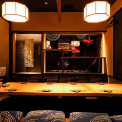 ろばたの魚炉米の雰囲気1