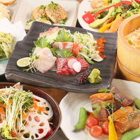 虎ノ門駅徒歩3分、新鮮魚介とお酒を堪能できるコース