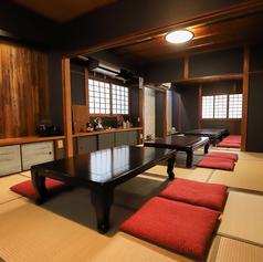 2階は完全個室ですが3部屋を繋げてご利用いただけます。