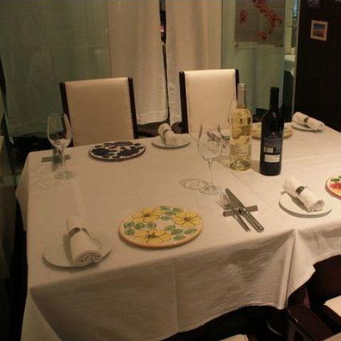 4名様~要ご予約となります。ディナーのみご利用頂けます。