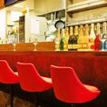 【カウンター】会社帰り・誕生日・記念日・友達・カップル、職場の仲間との集まりにも最適です♪ダーツ台が置いてあるスペースもあるので、食べ飲みしたあとに、ダーツもお楽しみ頂けます♪