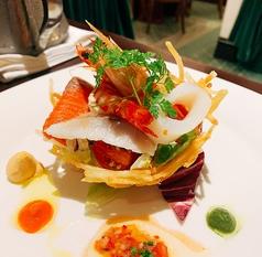 フランス料理ギャルソンのコース写真