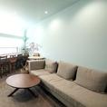 2階のソファー席はゆったりランチや女子会に♪