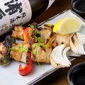 料理メニュー写真豚バラ串焼き