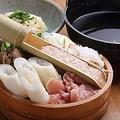 料理メニュー写真きりたんぽ鍋セット