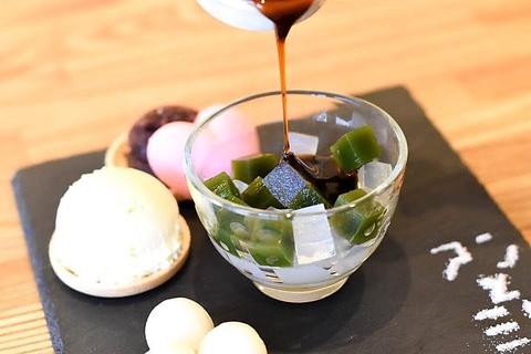 自家製あんこが自慢の和カフェ。創業1949年の伝統の味をぜひ!