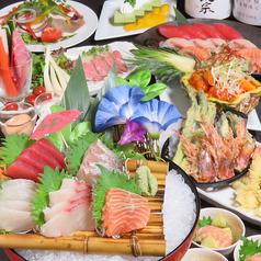 魚鮮水産 三代目網元 名取杜せきのした店のコース写真