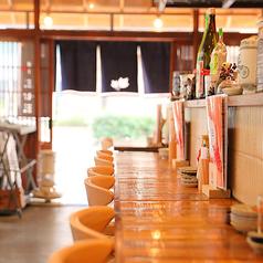 カウンター席ではサク飲みのお客様に大人気☆また、今の季節は解放感あるお席になっており、キンキンに冷えた生ビールや夏の日本酒等がより美味しく感じる・・・♪また、仙台では珍しい将棋を打ちながらお酒をお楽しみ頂けます♪15時~からOPENしておりますので、いつもより楽しい時間を♪